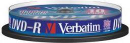 Verbatim DVD-R/10/Cake 4.7GB 16x srebrny 43523