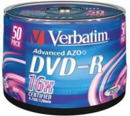 Verbatim DVD-R/50/Cake 4.7GB 16x 43548