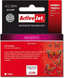 Activejet tusz ACC-8MN / CLI-8M (magenta)