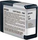 Epson Tusz Light Black (80 ml) Stylus Pro 3800 C13T580700