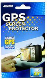 4World Screen Protector folia ochronna na wyświetlacze PDA / GPS / FOTO 3.5''