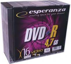 Esperanza DVD+R/10/Slim 4.7GB 16x
