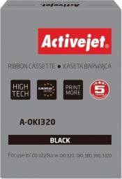 Activejet Taśma do drukarki zastępująca OKI 09002303 czarna (A-OKI320)