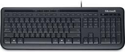 Klawiatura Microsoft Wired 600 Przewodowa Czarna US (ANB00019)