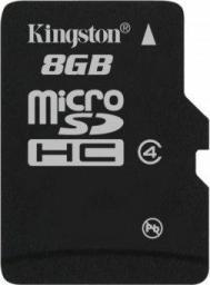 Karta MicroSD Kingston 8GB (SDC4/8GBSP)