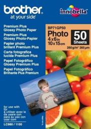 Brother papier Photo Glossy A6 (BP71GP50) 50 ark