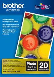 Brother papier Photo Glossy A6 (BP71GP20) 20 ark