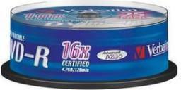 Verbatim DVD-R/25/Cake 4.7GB 16x Printable 43538
