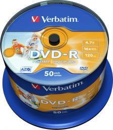 Verbatim DVD-R 4.7 GB 16x 50 sztuk (43533)