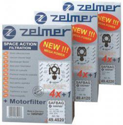 Worek do odkurzacza Zelmer SAFBAG 494020.00 (ZVCA 100B)