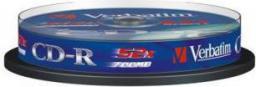 Verbatim CD-R/10/Cake 700MB 52x DataLife Extra Protected 43437