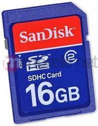 Karta pamięci SanDisk SDHC 16GB Class 2 (SDSDB-016G-B35)