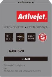 Activejet Taśma do drukarki zastępuje OKI 09002315 czarna (A-OKI520)
