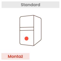 Montaż komputera (dotyczy wszystkich podzespołów w koszyku)
