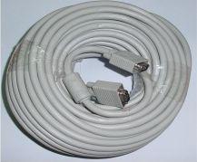 Kabel Assmann D-Sub (VGA) - D-Sub (VGA) 20m biały (AK3820XFIMP)