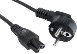 Kabel zasilający Gembird do notebooka koniczynka 1.8m (PC-186-ML12)