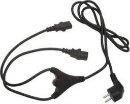 Kabel zasilający Gembird 2xIEC320 C13 1.8M (PC-186-ML6)