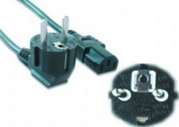 Kabel zasilający Gembird komputerowy Euro/IEC C14 10M (PC-186-VDE-10M)