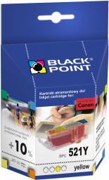 Black Point tusz BPC521Y / CLI-521Y (yellow)