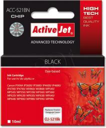 Activejet tusz ACC-521BN / CLI-521Bk (black)