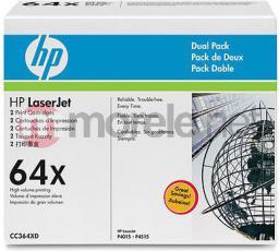 HP zestaw tonerów CC364XD Black