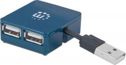 HUB USB Manhattan 4 porty USB (160605)