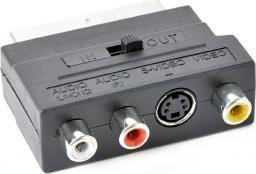 Adapter AV Gembird EURO/SVHS-3XCHINCH