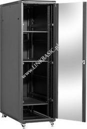 Szafa Linkbasic stojąca rack 42U 800mm czarna (do samodzielnego montażu) (NCB42-68-BAA-C)