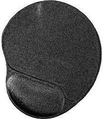 Podkładka Gembird ErgoPad Black (MP-GEL-BLACK)