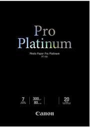 Canon papier Pro Platinum PT101 A3 (2768B017AA) 20 ark
