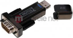 Adapter USB Digitus USB-RS232 Czarny (ADA70156)