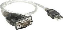Kabel USB Manhattan USB na port szeregowy RS232 DB9M (205146)