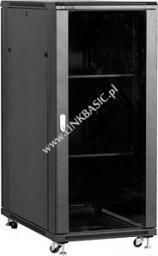 Szafa Linkbasic stojąca rack 27U 1000mm czarna (do samodzielnego montażu) (NCB27-610-BAA-C-STD)