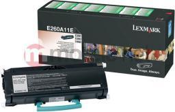 Lexmark toner E260A11E Black (zwrotny)