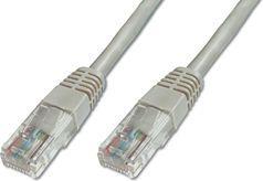 Digitus Patch cord kat.5e UTP szary 0,5m DK-1512-005