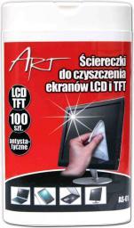 ART Ściereczki do ekranów LCD/TFT 100szt.