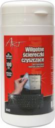 ART AS-02 ściereczki czyszczące termos 100szt