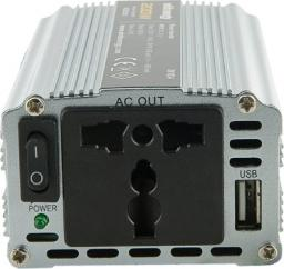 Przetwornica Whitenergy DC 24V-AC 230V 200W z USB (06578)