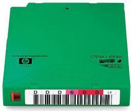 HP Taśma LTO Ultrium4 800/1600GB RW 20szt. - z naklejkami zawie (C7974AN)