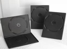 Gembird PUDEŁKO DVD 2 (14mm) CZARNE (100-PACK)