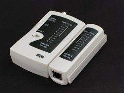 NetRack Tester kabli RJ11/RJ12/RJ45/BNC UTP/FTP (103-02)