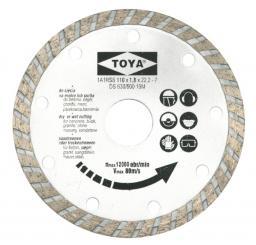 Vorel Tarcza diamentowa turbo 115mm 08751