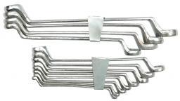 Vorel Zestaw kluczy oczkowych odgiętych 6-17mm 6szt. (52560)