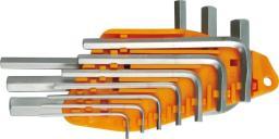 Vorel Zestaw kluczy imbusowych hex typ L 1,5-10mm 10szt. (56393)