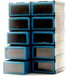 Regalik na drobiazgi mini 10 szufladek
