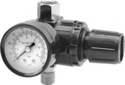 Vorel Reduktor ciśnienia z manometrem i szybkozłączem RP182R 4mm (81562)