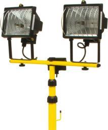 Naświetlacz Vorel Lampy halogenowa na stojaku 2szt. 400W 220V 82787