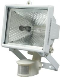 Naświetlacz Vorel Reflektor halogenowy z czujnikiem ruchu i żarnikiem 400W 230V biały 82798