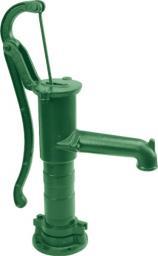 FLO Pompa ręczna 'abisynka' zielona (89552)