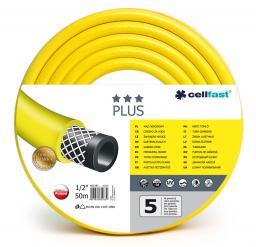 """Cellfast Wąż ogrodowy Plus 1/2"""" 50m (10-201)"""